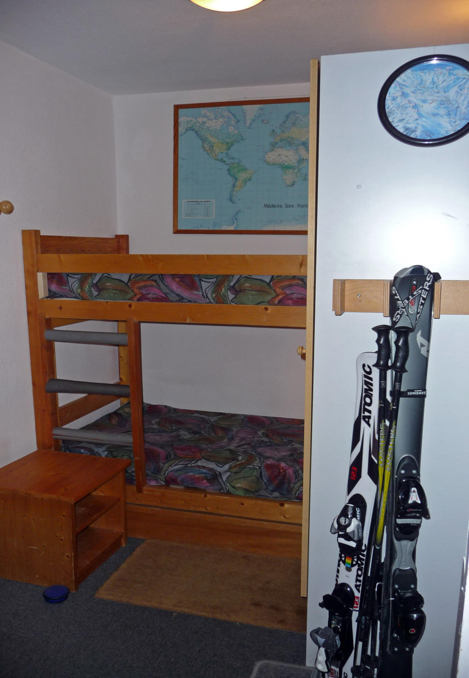 Ski Appartement in Les Menuires, 3 Taler, content=\